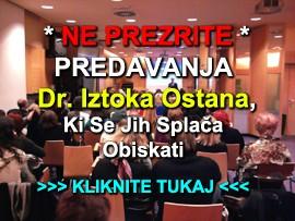 Predavanja dr.Iztoka Ostana - banner
