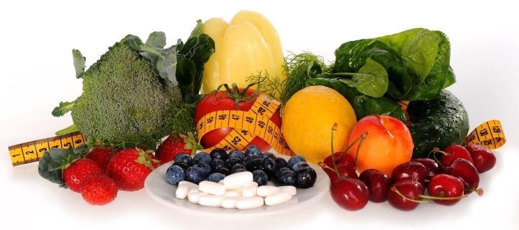 Sadje, zelenjava in MAP tablete :)